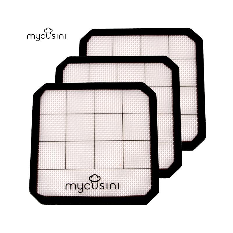 mycusini® Silikonmatte (3 Stück)