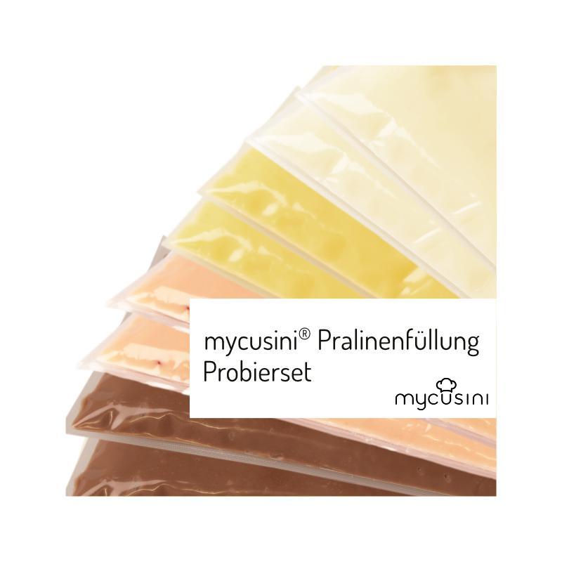 mycusini® 3D Pralinenfüllungen Probierset